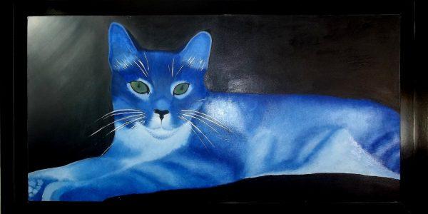 cuadro el gato 1